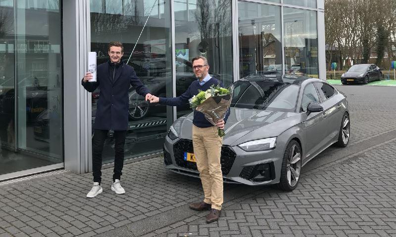 Prijswinnaar Audi A5 (1)